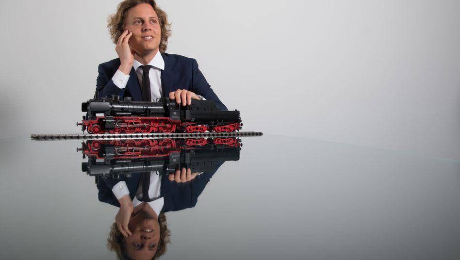 Steuert bald ein riesiges Spielwarenreich: Florian Sieber