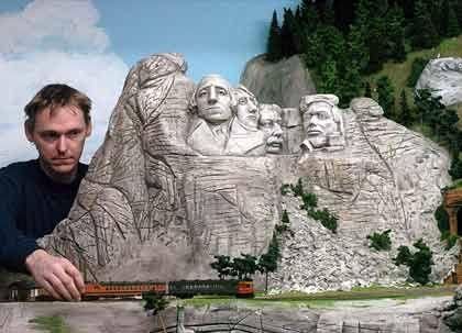 God bless America: Mount Rushmore finden Sie in keinem Märklin-Katalog