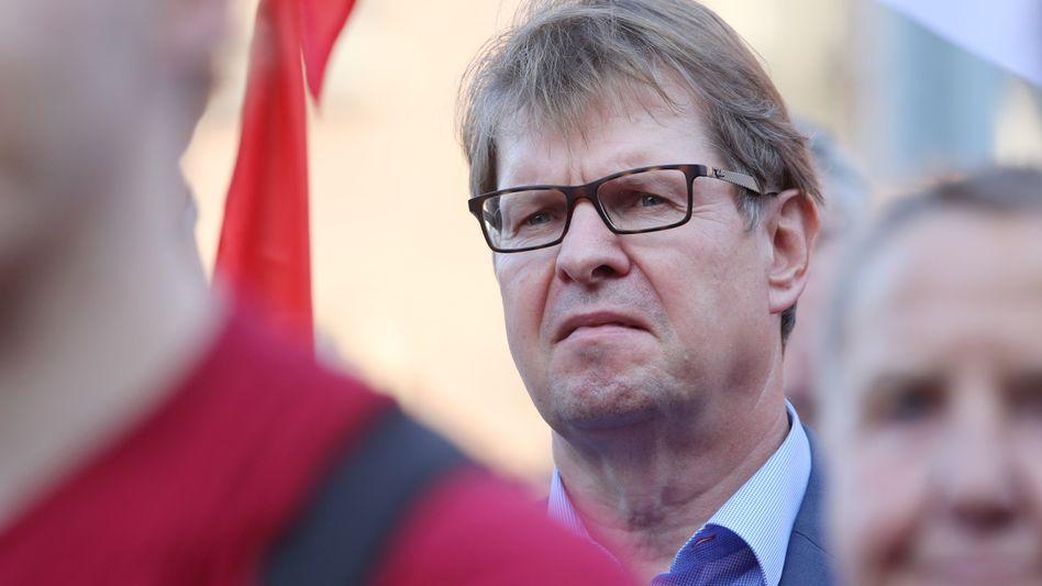 """SPD-Vize Ralf Stegner: """"Der Geduldsfaden mit einer solchen Koalition ist ganz dünn geworden"""""""