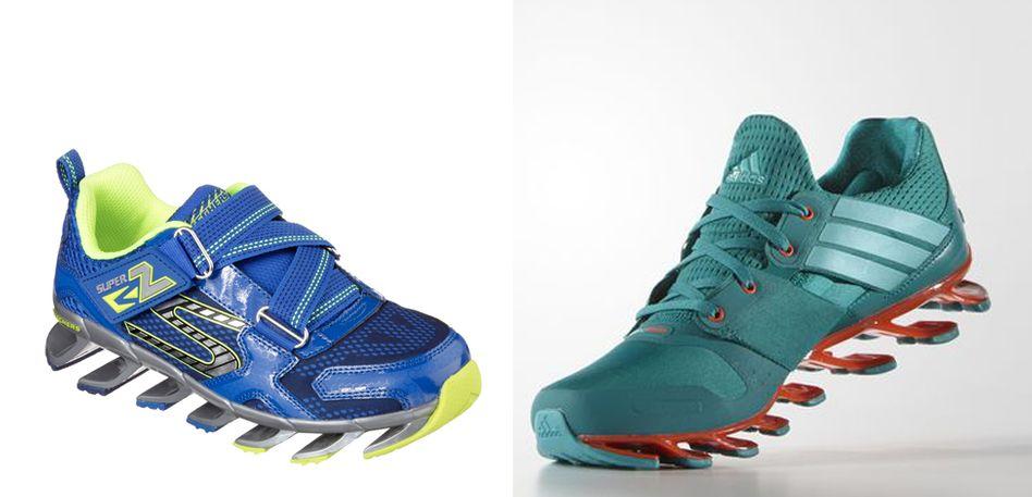 Frappierende Ähnlichkeit: Laufschuhe von Skechers und Adidas