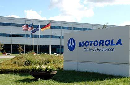 Motorola-Werk: Google-System Android auf neuem Handy