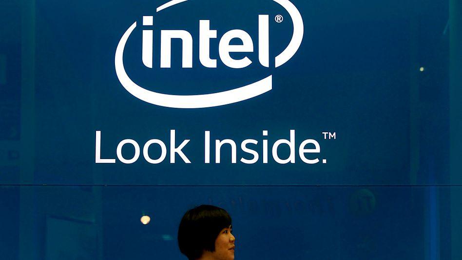 Intel: Das operative Ergebnis der PC-Sparte fiel binnen eines Jahres um fast ein Viertel auf gut 1,4 Milliarden Dollar.