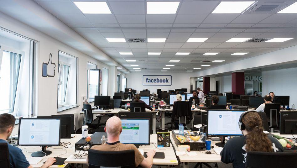Löschzentrum von Facebook in Berlin