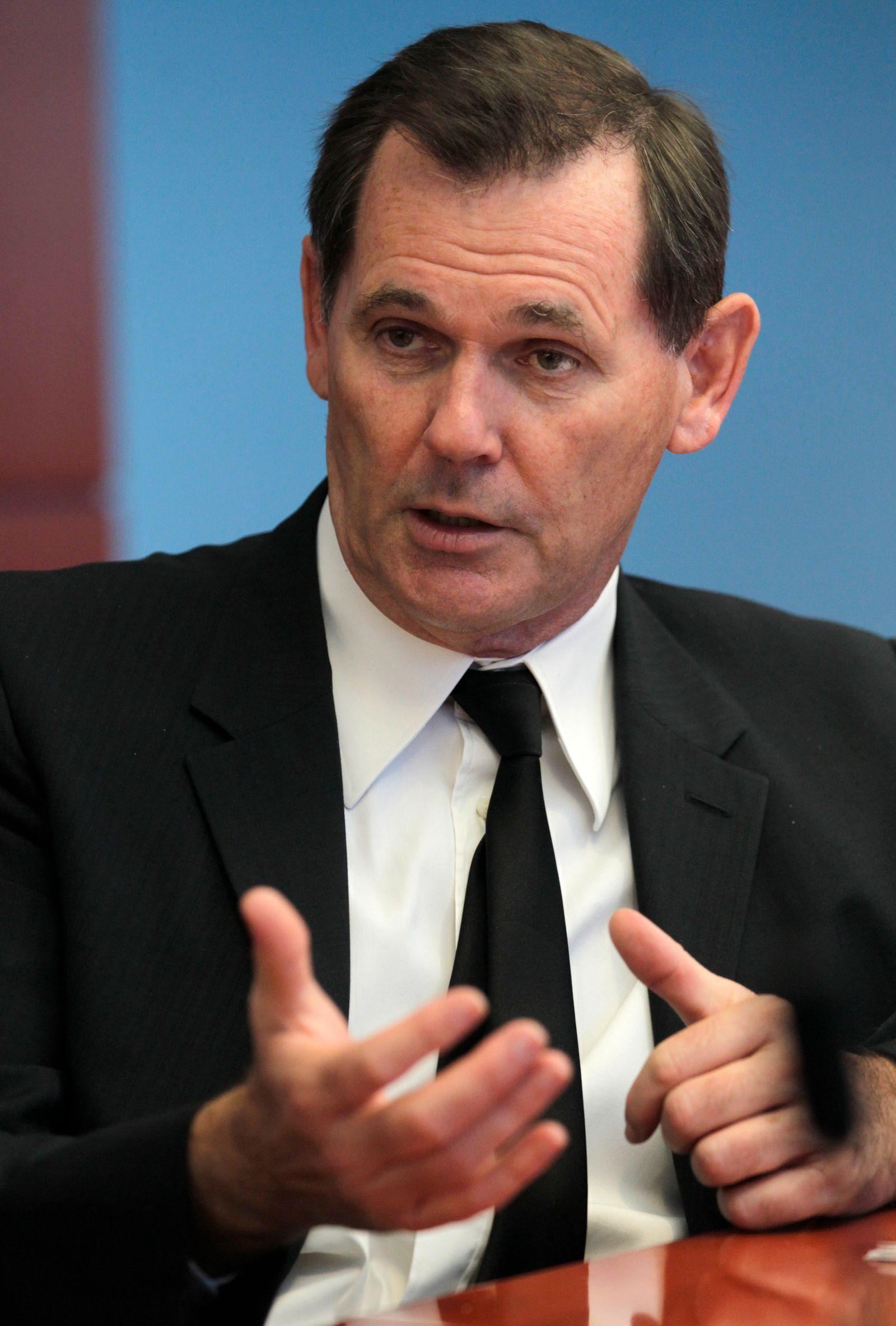 Bernd Beetz, CEO Coty