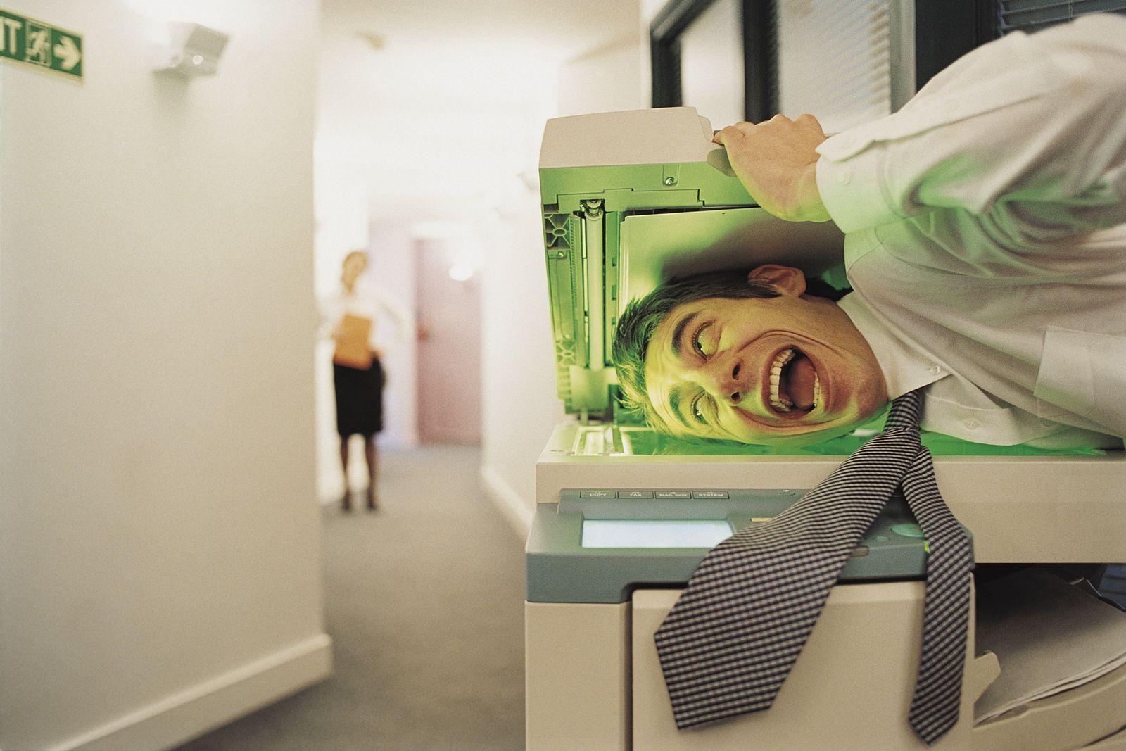 NICHT MEHR VERWENDEN! - Büro/ Kopierer/ Irrer
