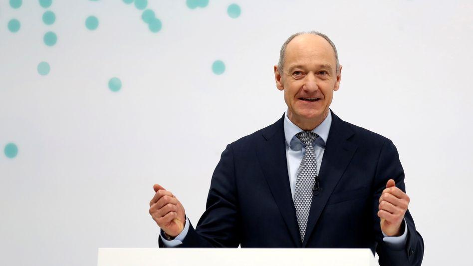 Neue Strategie: Siemens-Chef Roland Busch will sich stärker auf das Softwaregeschäft konzentrieren