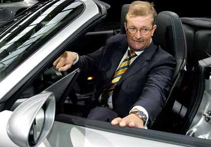 Im Telekom-AR unerwünscht: Porsche-Lenker Wendelin Wiedeking