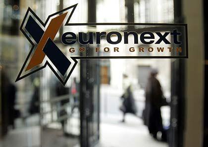 Fein rausgeputzt:Rekordzahlen der Euronext