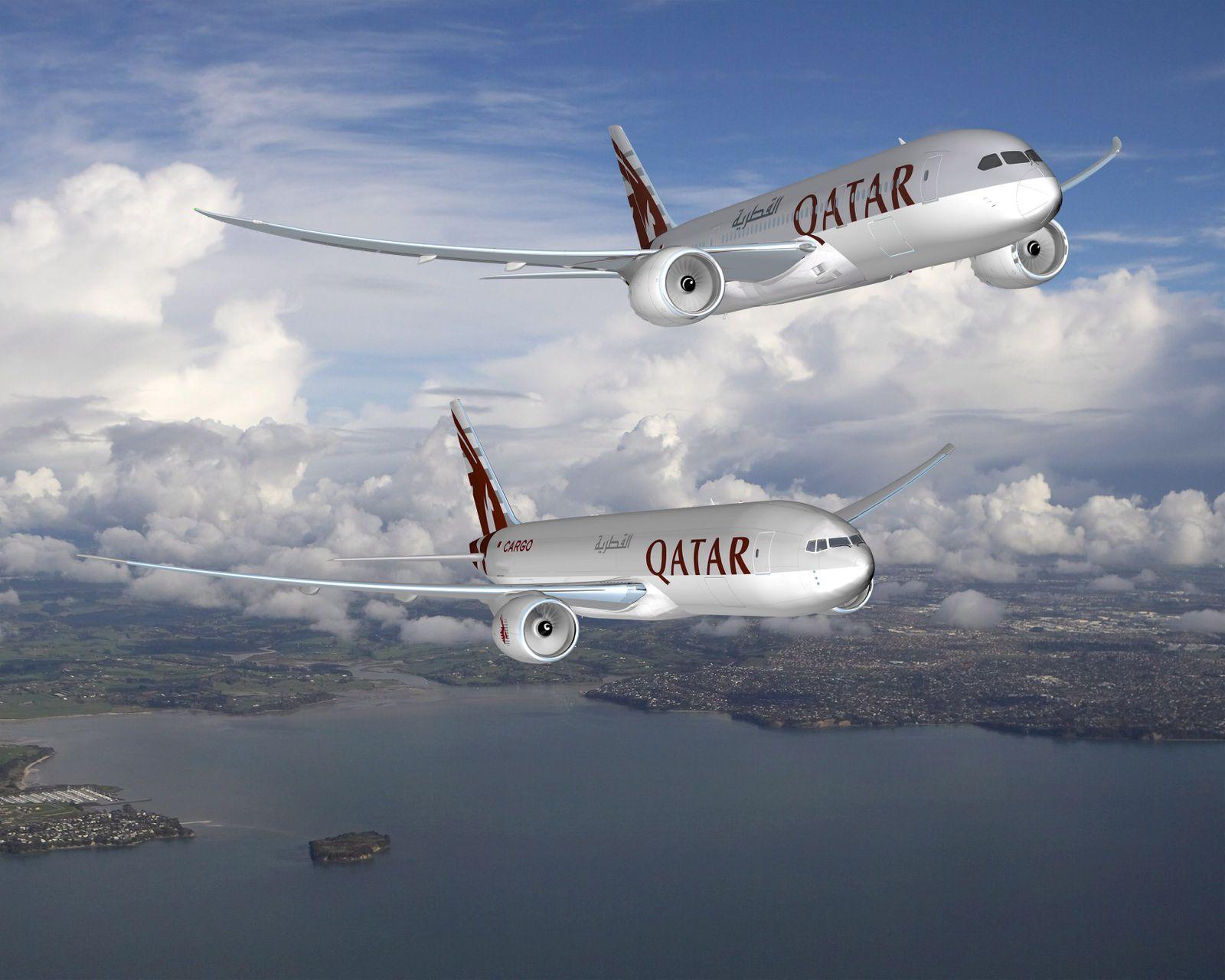 Qatar Airways / Boeing Dreamliner / Freighter (Kopie)