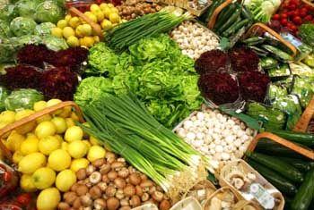 Viel frisches Gemüse: Ballaststoffreich und voller Vitamine