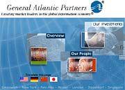 Essers neue Visitenkarte: Internet-Auftritt von General Atlantic Partners