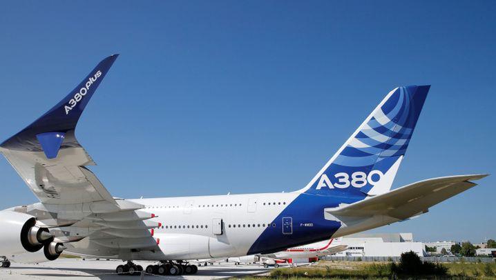 Flugzeugmesse in Le Bourget: Konkurrenz fest im Adlerblick