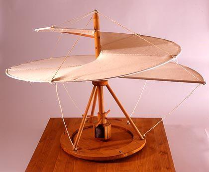Vorfahre des Hubschraubers: Der Luftschrauber