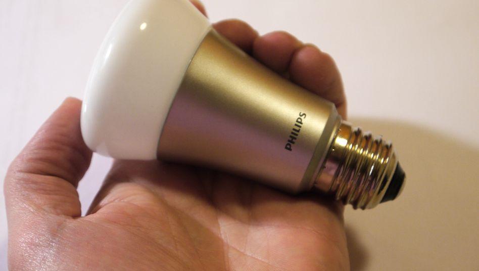 Philips-LED-Lampe: Die Lichttechnik soll künftig unter dem Namen Lumileds firmieren