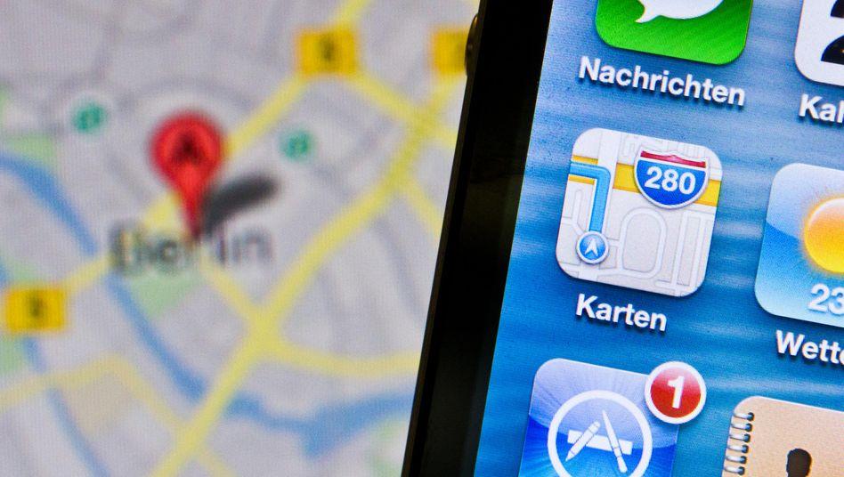 Apples Kartendienst: Navigationshelfern gehört die Zukunft