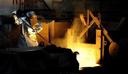 Tiefpunkt erreicht: Schmelzer im Salzgitter-Stahlwerk