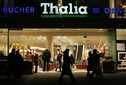 Kam bei Karstadt nicht zum Zuge: Die zur Douglas-Holding gehörende Buchhandelskette Thalia