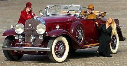 """Im Stil der 30er Jahre: Ein """"Cadillac Fleetwood"""""""