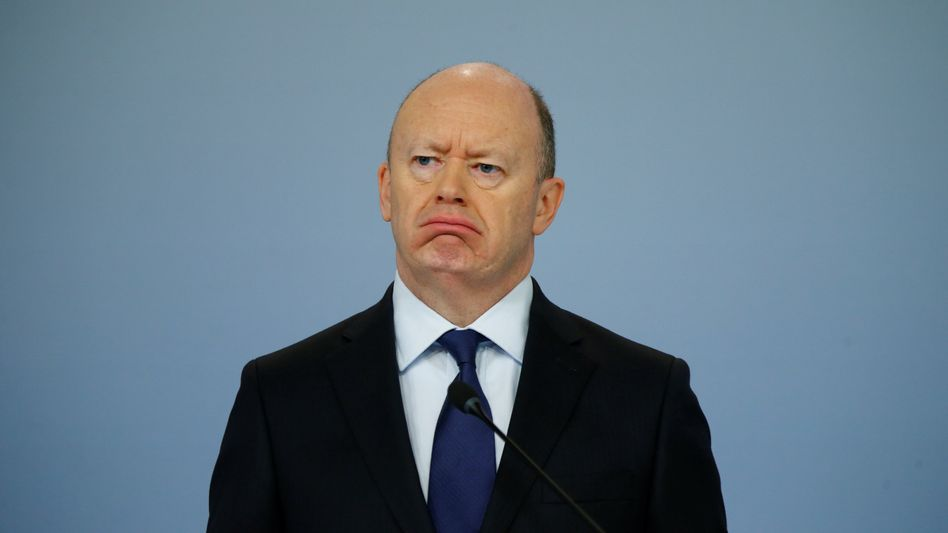 Deutsche-Bank-Vorstandschef John Cryan.