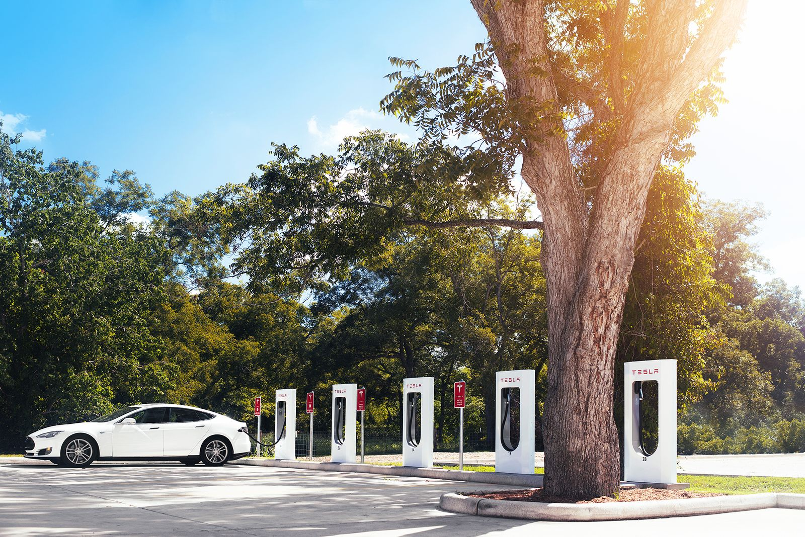 Supercharger Station / Tesla