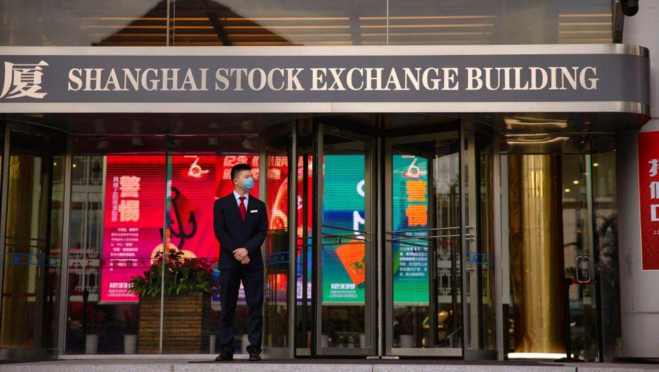 Sehnsuchtsort: In der kommenden Woche sollen an der Börse in Shanghai Aktien von Ant gehandelt werden