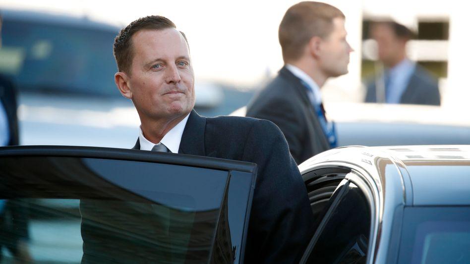 US-Botschafter Richard Allen Grenell: VW auf Linie gebracht?