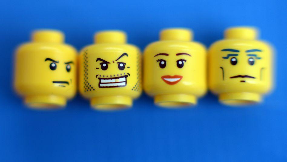 Zähne zeigen: Legos neue Strategie.