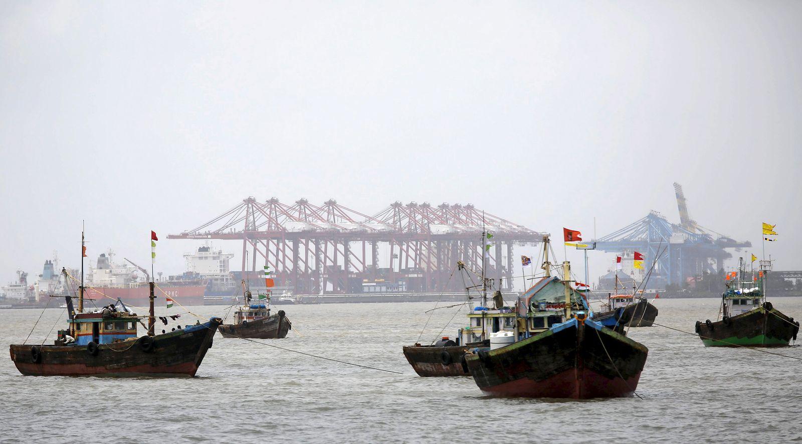 Indien/ Hafen/ Export