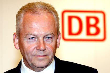 Gewinneinbruch: Bahnchef Grube steht im neuen Job vor reichlich Aufgaben