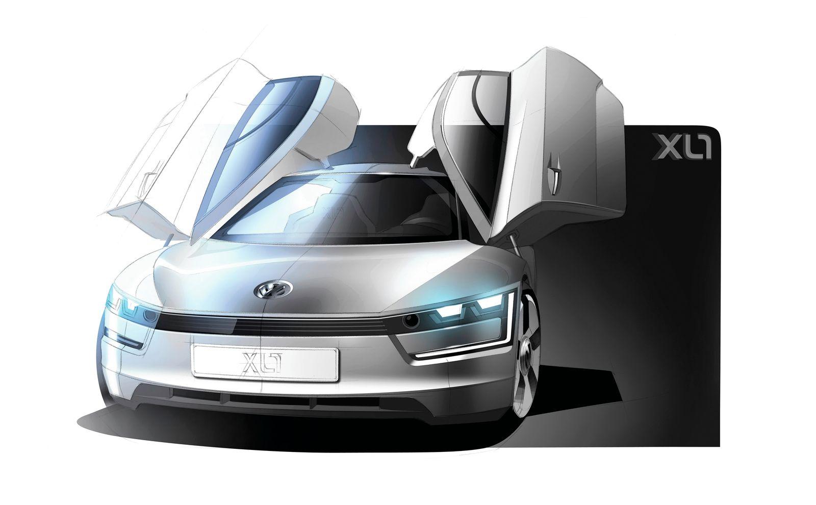 VW Ein-Liter-Auto / Studie