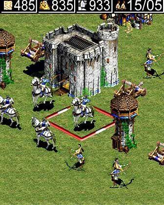 Ja, wo laufen sie denn?: Handyversion von Age of Empires