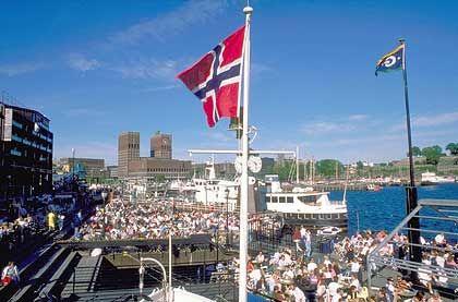 Oslo: Seit 1998 legt Norwegen seine Überschüsse aus dem Ölgeschäft an den internationalen Aktien- und Anleihemärkten an