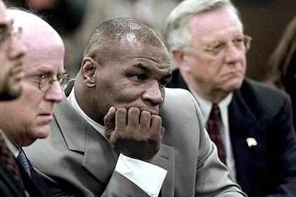 Stammgast: Tyson vor Gericht