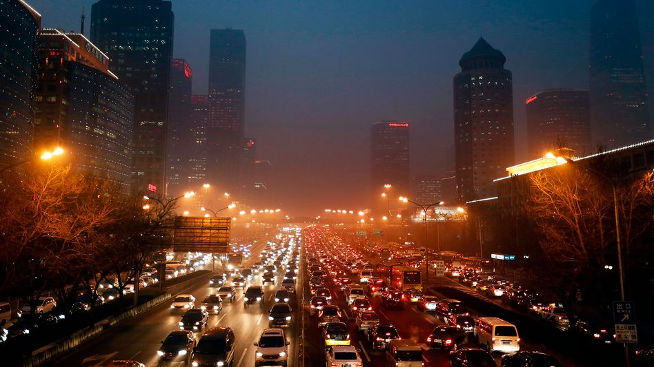 Peking: Die chinesische Hauptstadt kämpft mit schwerer Luftverschmutzung