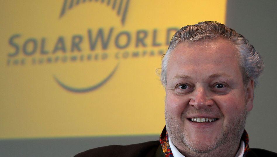 Solarworld-Chef Asbeck tritt in die Fußstapfen von Apple-Gründer Steve Jobs