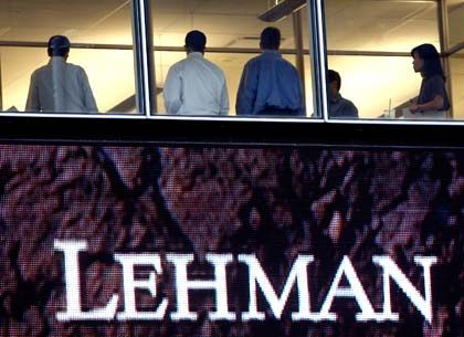 Auslöser der Krise: Mit der Lehman-Pleite begannen auch für die offenen Immobilienfonds die Probleme