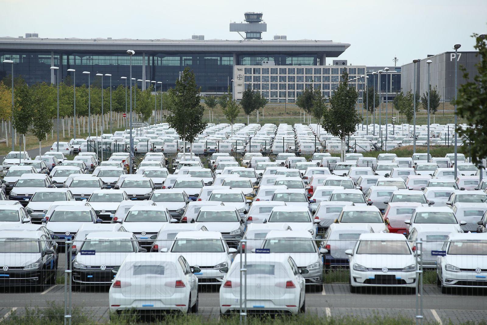VW-Autos BER