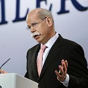 Neues Amt: Daimler-Chef Zetsche