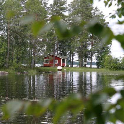 Idyll am See: So viel Ruhe wie in Mittelfinnland gibt es nur an wenigen anderen Orten - allerdings ist der Komfort beschränkt
