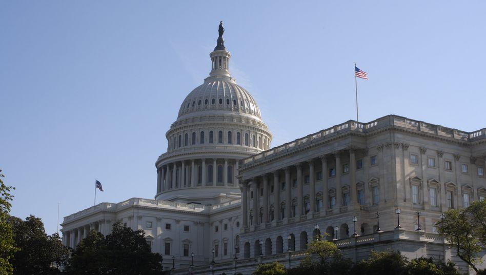 Kapitol in Washington, Sitz des US-Repräsentantenhauses: Die Abgeordneten haben sich mehrheitlich für eine Stärkung der US-Post entschieden