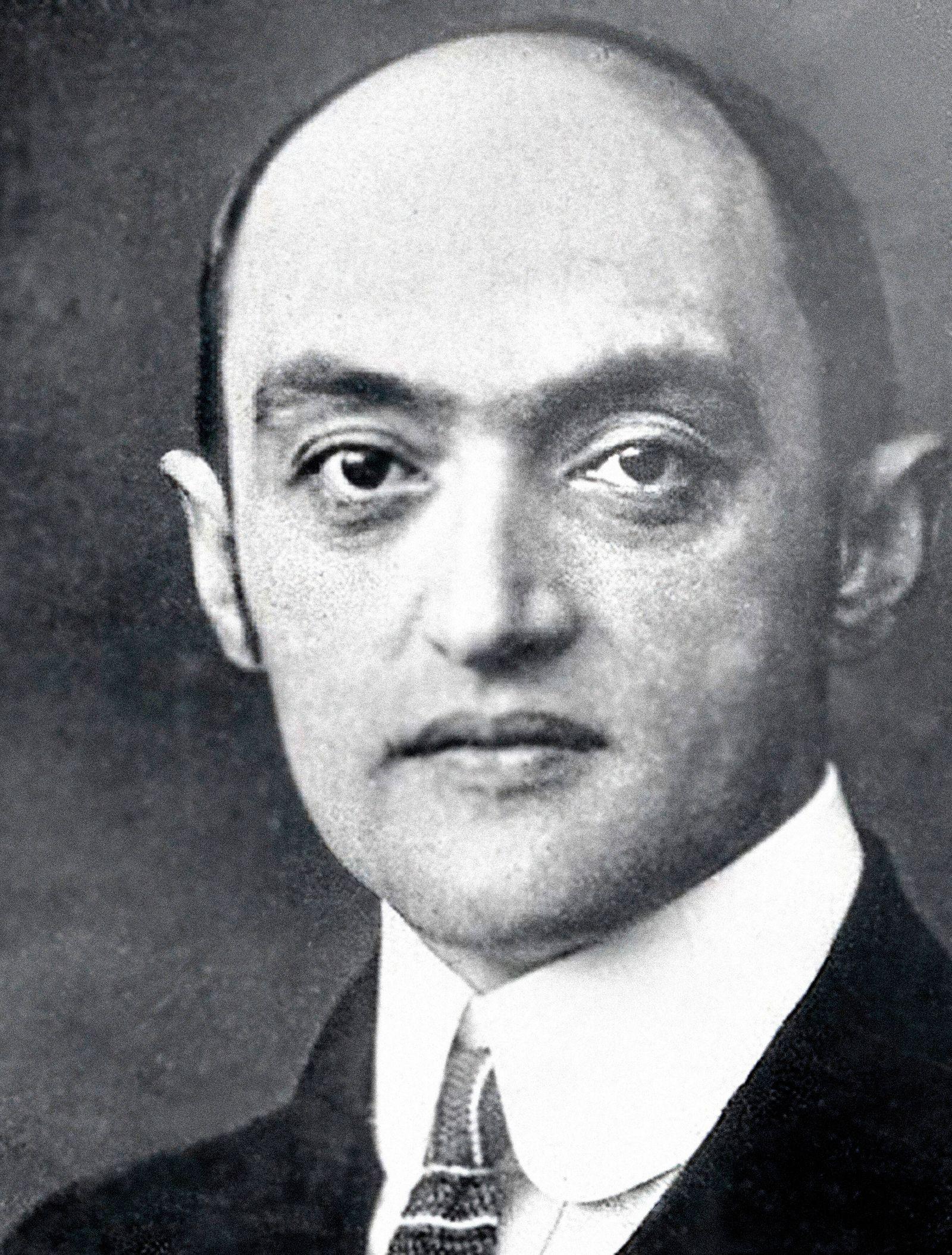 Joseph Schumpeter (1883-1950), Austrian economist (See caption)