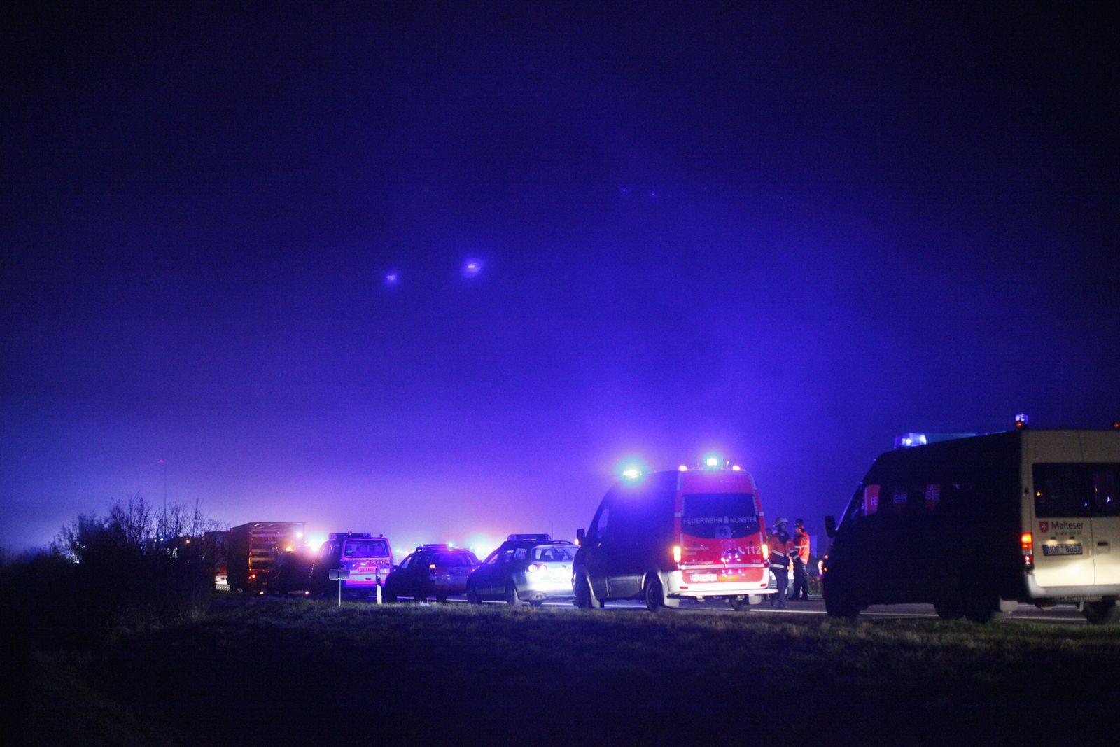 NICHT VERWENDEN A31 / Unfall