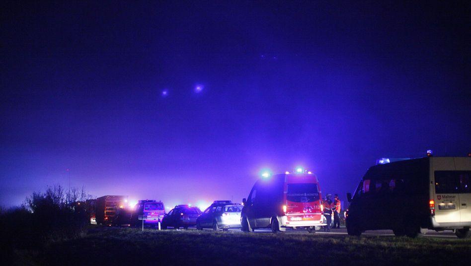 Massenkarambolage auf der Autobahn 31: Mehr Verkehrstote in 2011 als im Vorjahr