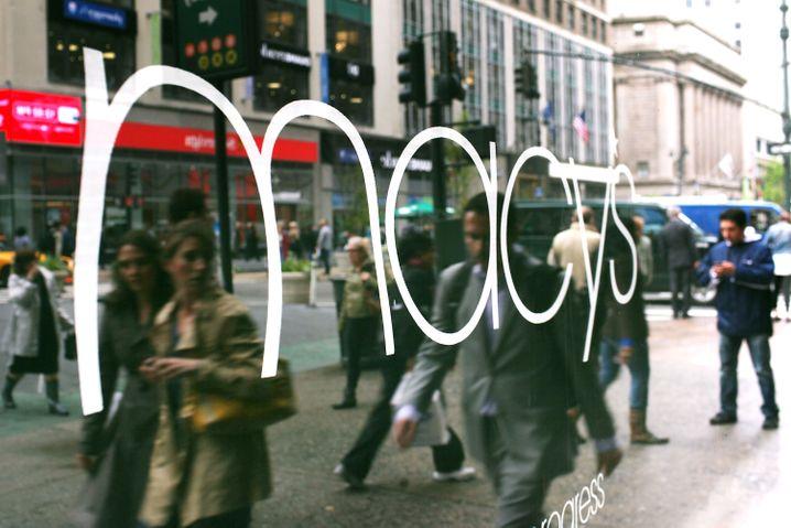 Einer von vielen Läden des US-Einzelhandelsriesen Macy's. Der Konzern entlässt den Großteil seiner 130.000 Beschäftigten