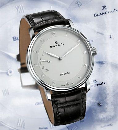"""Hugenotten-Zeitmesser: Die schlichte """"Villeret 4040"""" von Blancpain trägt den Namen des Ortes, an dem einst aus Frankreich vertriebene Protestanten das Uhrmacherhandwerk der Schweiz begründeten."""