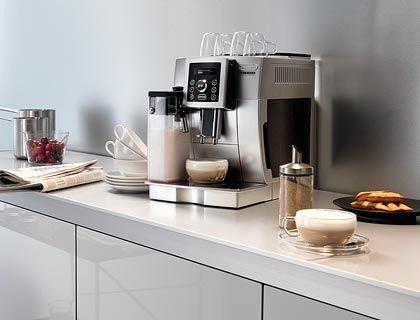 Für Milchfans: Auch De'Longhi hat die Milchaufschäumtechnik weiter perfektioniert