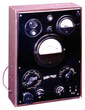 1945 begann es mit dem Röhrenmessgerät Novatest bei Grundig.