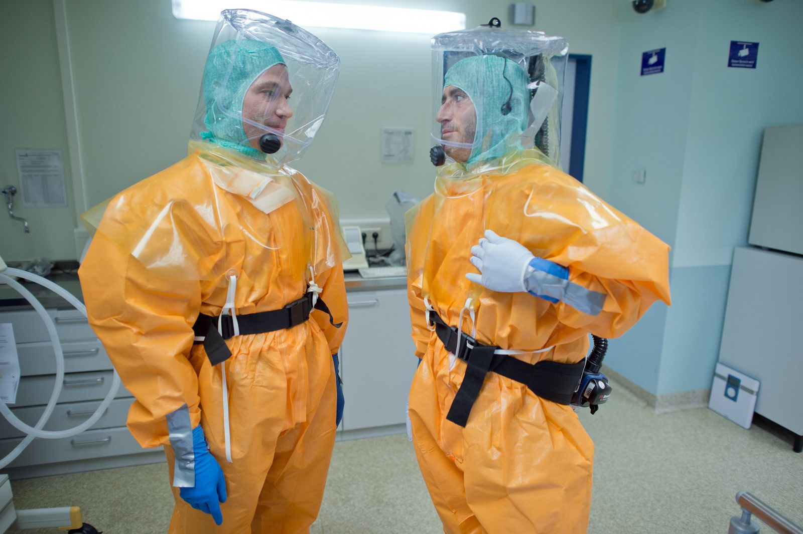 Isolierstation Frankfurt / Ebola