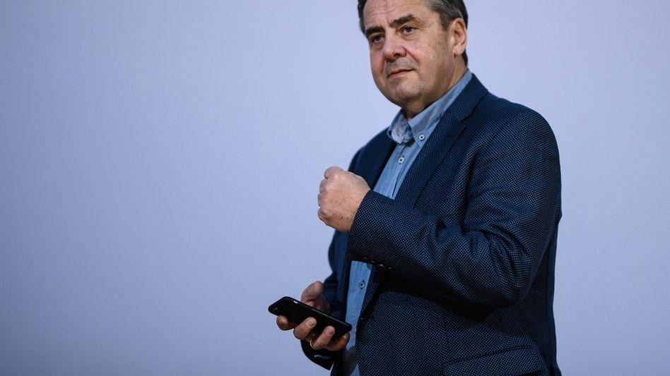 Sigmar Gabriel: Der SPD-Chef wird frühestens im März 2019 seine Arbeit im Verwaltungsrat von Siemens-Alstom aufnehmen