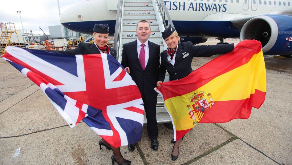 Willie Walsh (Bild Archiv), Chef der BA-Mutter IAG, geht in den Ruhestand. Nachfolger wird der Chef der IAG-Airline Iberia, Luis Gallego.